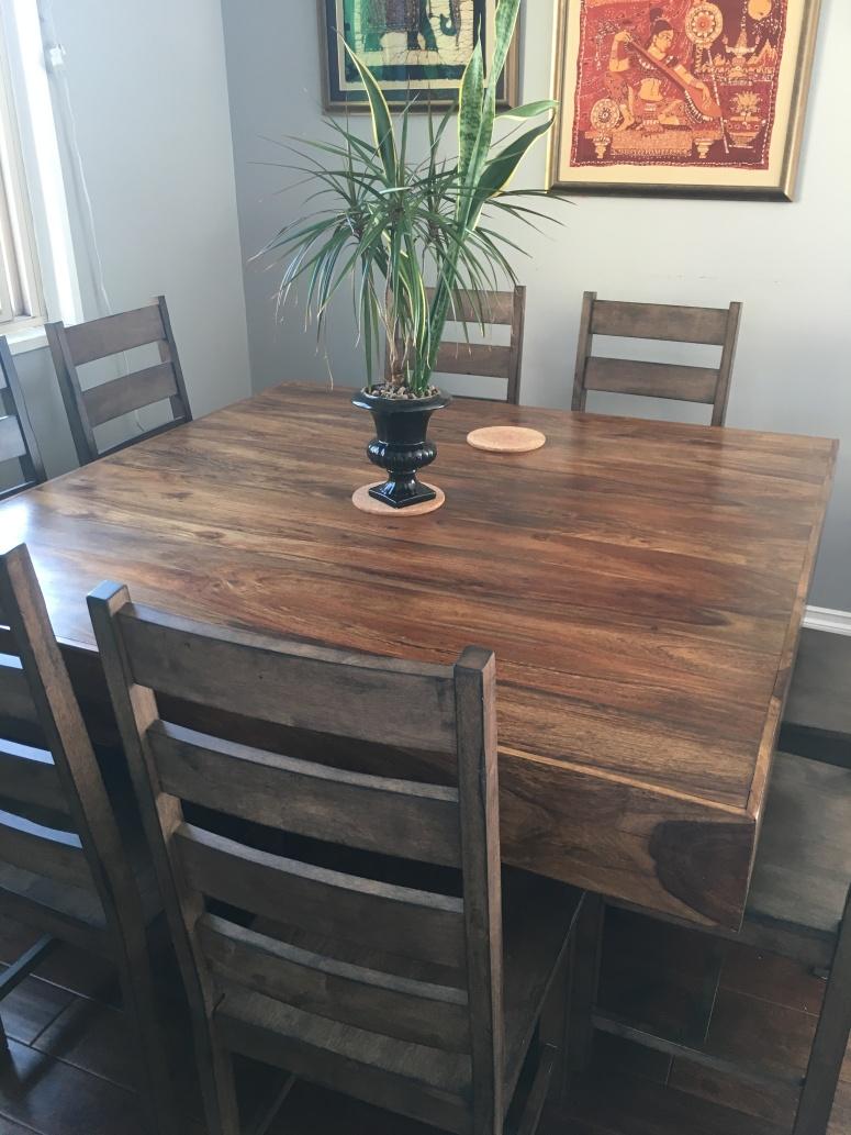 CRAIGSLIST TABLE AND CHAIR | INLAND EMPIRE DESIGNER | REDLANDS DESIGNER | CHANSAERAE DESIGNS